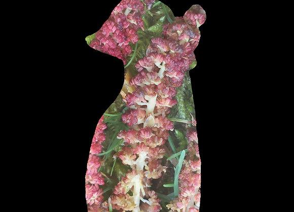 Jeune pousse florale Photosculpt