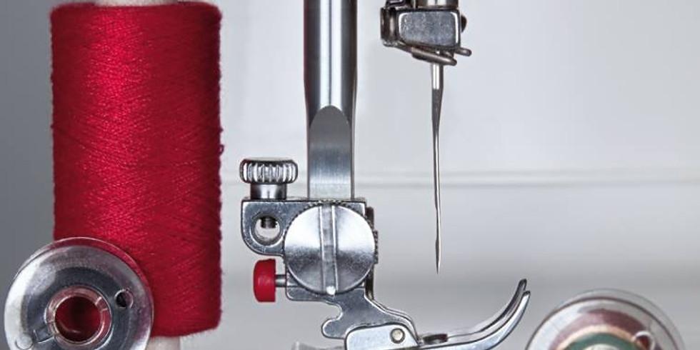 Otevřená hodina šití na strojích