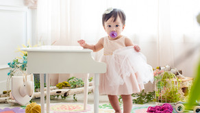 Cute Pink Dress Girl