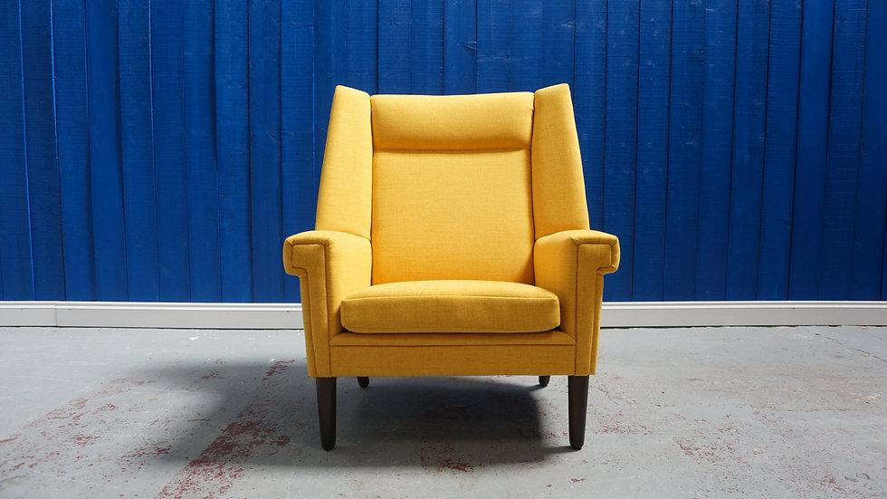 Large, Mid Century Danish Lounge Armchair, 1960's