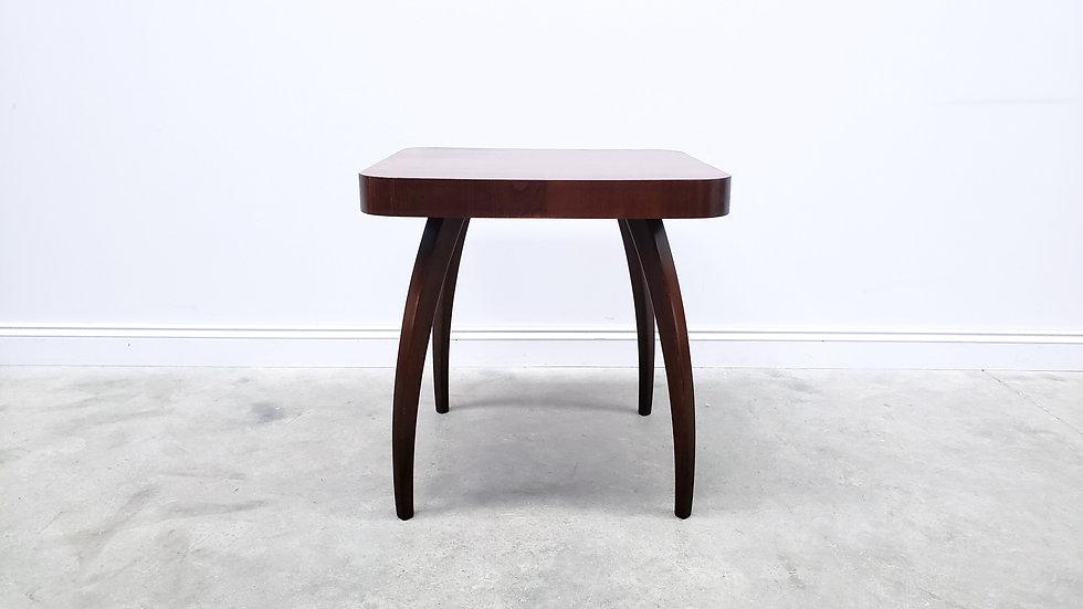 1950 Jindrich Halabala Coffee Table, Model H - 259 Spider, Dark
