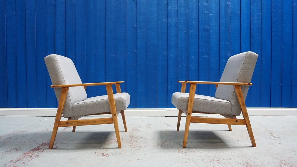 Mid Century Easy Chair 1970's vintage interior design