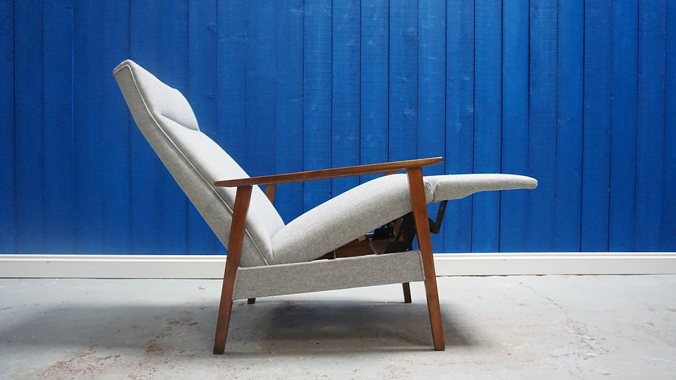 Mid Century Recliner Armchair from 1960's Vintage Modern