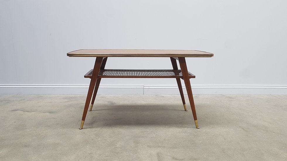 Mid Century Coffee Table, Side Table from Opal Kleinmöbel, 1960's