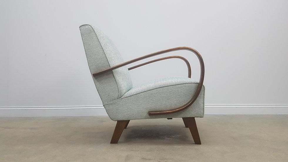 1930 Jindrich Halabala Bentwood Armchair for Thonet