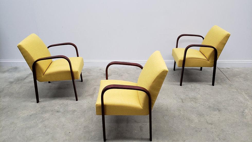 1930 Art Deco Chairs by Jindrich Halabala, Model H - 73