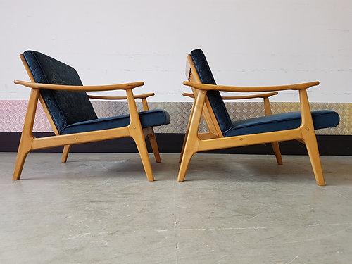 Danish Mid Century Lounge Armchair 1960u0027s