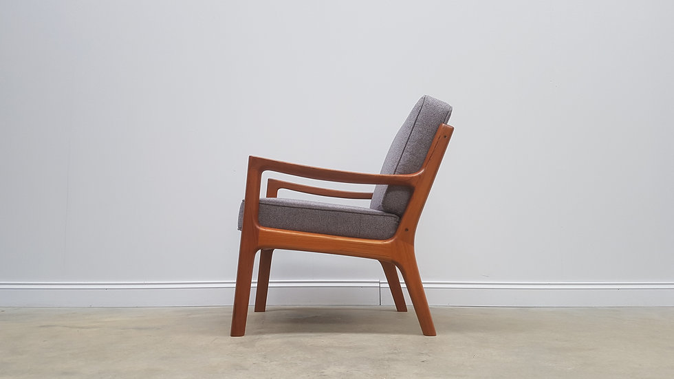 Senator Easy Teak Chair by Ole Wanscher for France and Son, 1951