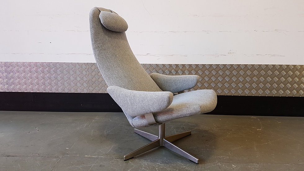 Contourette Roto Swivel Chair by Alf Svensson for Dux, 1960s