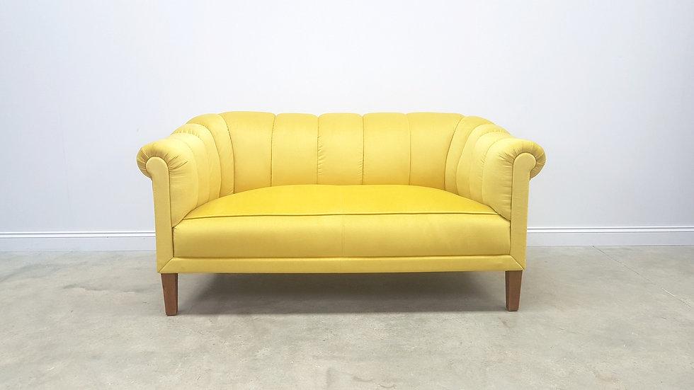1950 Austrian Sofa in Luxury Golden Velvet