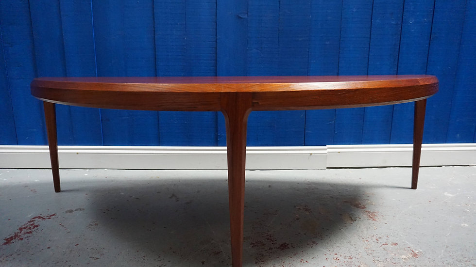 Mid-Century Teak Coffee Table by Johannes Andersen for CFC Silkeborg