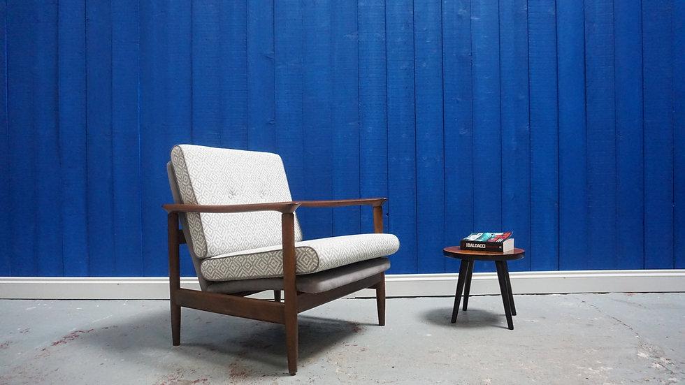 Mid Century Modern Club Chair by E. Homa, 1960's