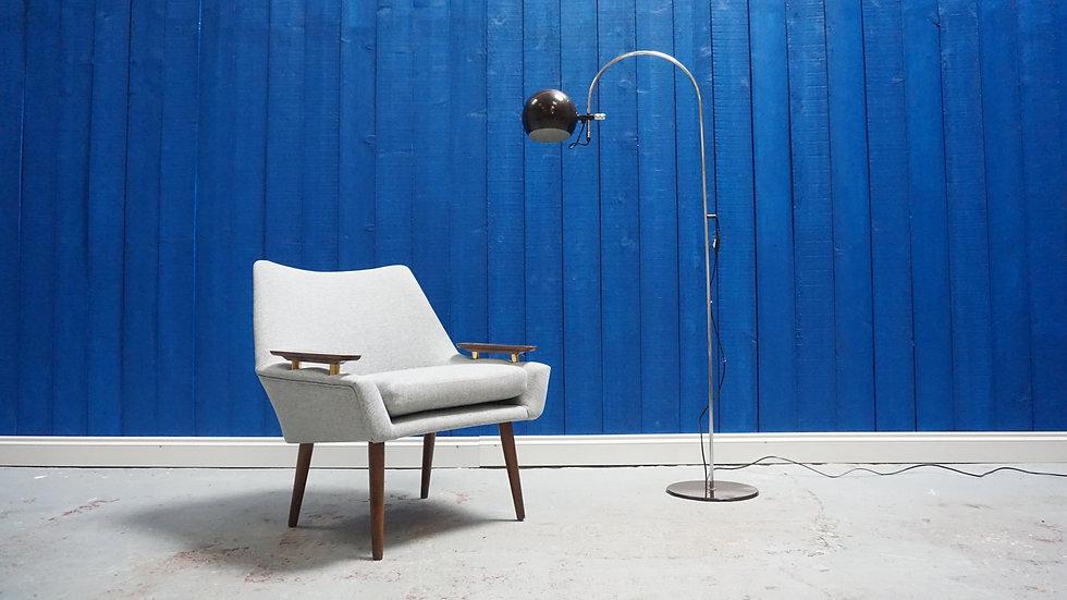 Mid Century 1960's Easy Chair Vintage Modern
