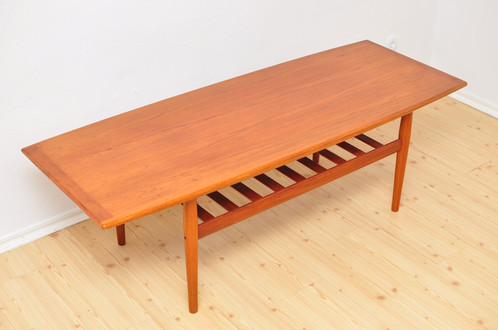 Ordinaire ... Grete Jalk Coffee Table, 1960s Mid Century Vintage ...