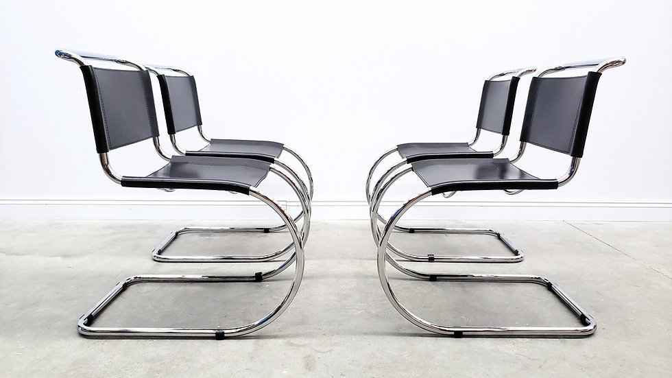 MR10 Chairs by Ludwig Mies Van Der Rohe for Knoll Inc. / Knoll International