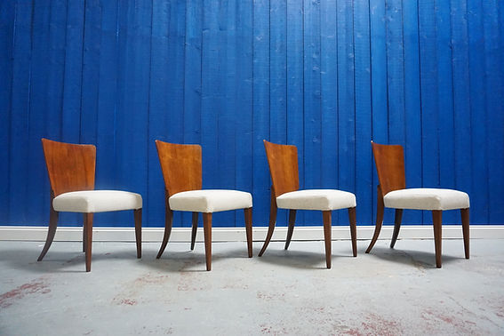 mid century vintage design chairs sitting art deco retro dining