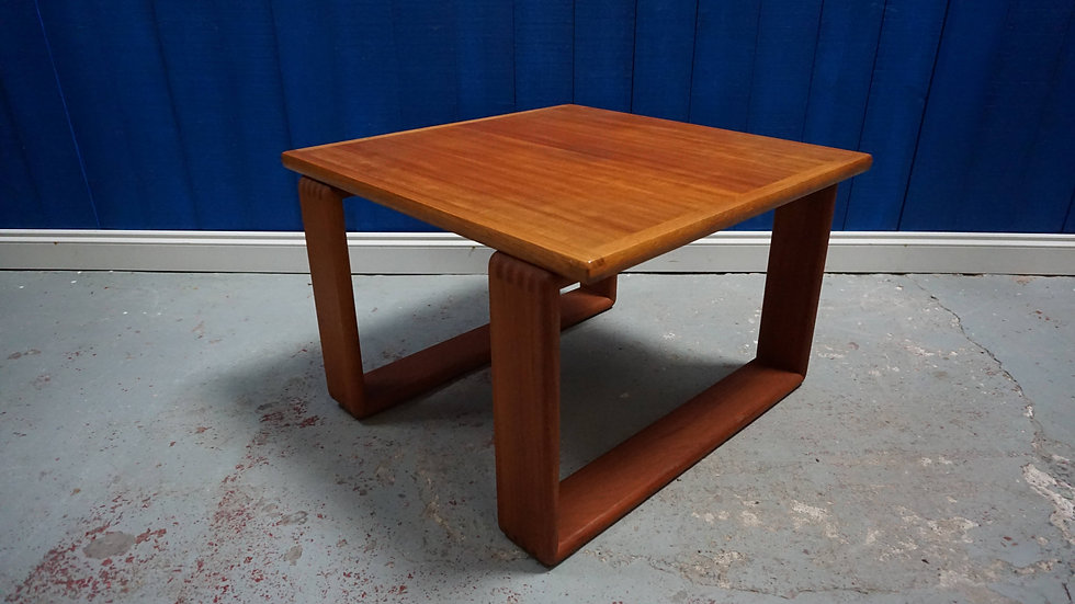 Mid Century Modern Danish Teak Coffee Table from 1960's