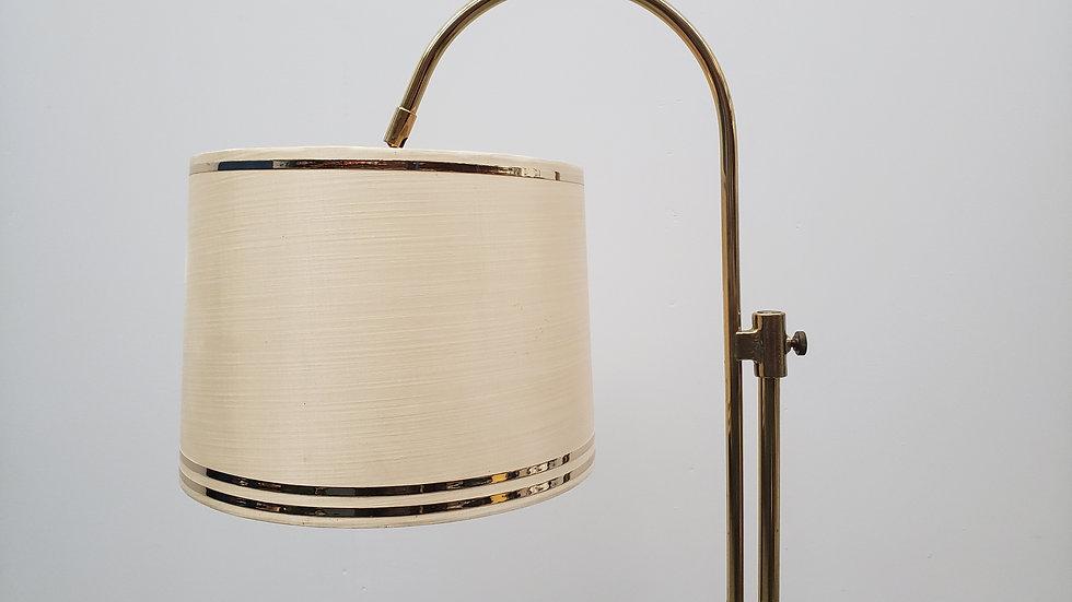 Adjustable Brass Floor Lamp from 1970's