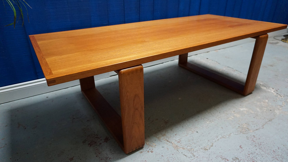 Mid Century Modern Danish Teak Table from 1960's