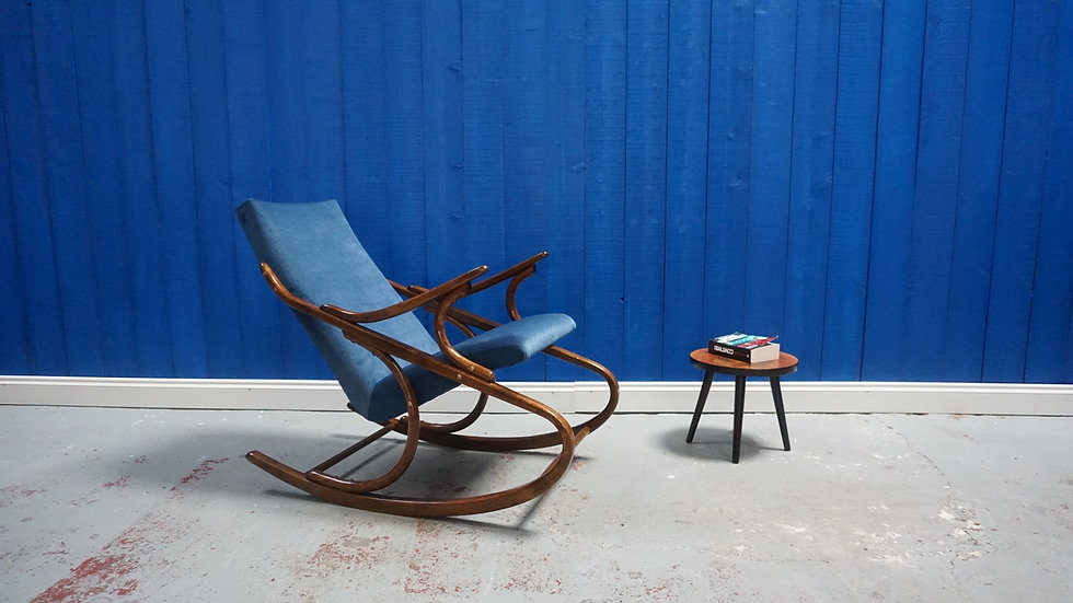 Ton / Thonet Rocking Armchair from 1960's