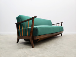 1950 Sofa Bed by Wilhelm Knoll for Antimott in Green Velvet