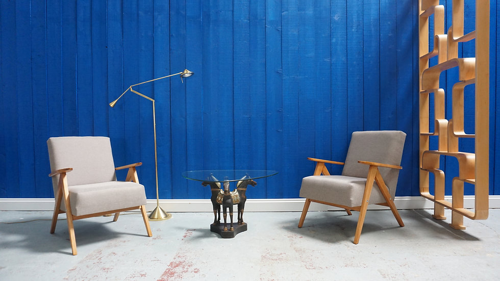 Mid Century Lounge Chairs from 1960 Interior Vintage Modern Armchair