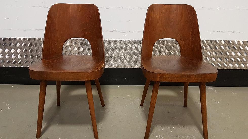 Oswald Haerdtl Chairs for Thonet 1955