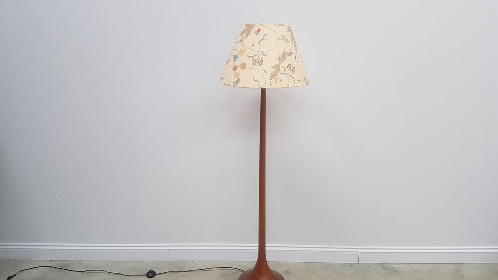 Mid Century Danish Teak Floor Lamp from 1960's
