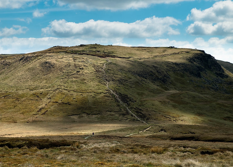 Kinder Scout, Western Approach
