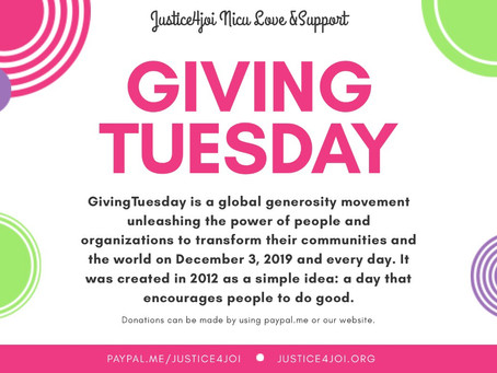 Justice4Joi #GivingTuesday