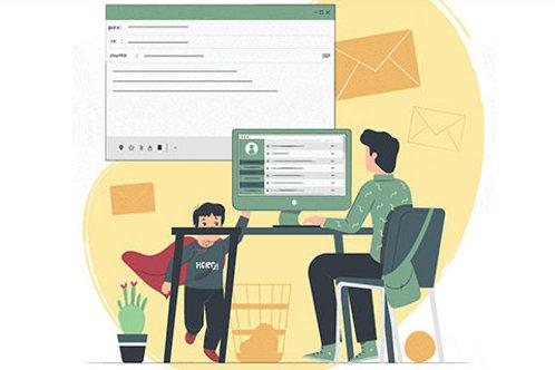 Trabajando desde casa / Para empledores