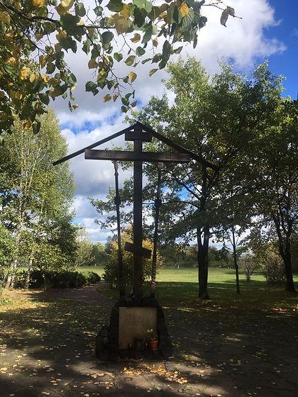 13. Поклоанный крест на Бутовском полиго