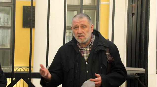 Сергей Пархоменко, один из инициаторов проекта «Последний адрес», журналист