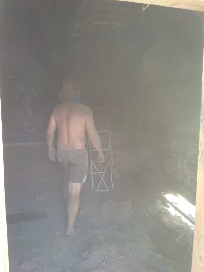 Долой следы пожара