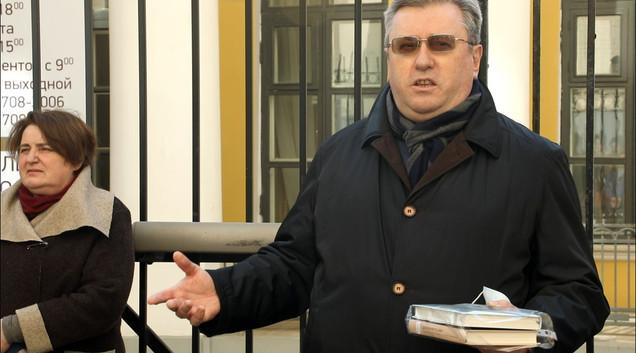 Алексей Лубков, историк, ректор РГПУ