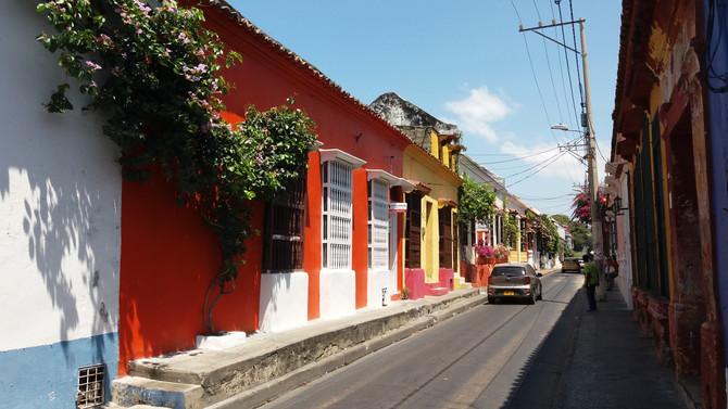 Caio em Cartagena - Primeiros dias