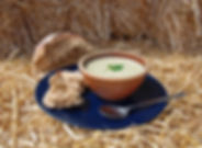 Leek, Potato & Blue Soup- Dorset Blue So