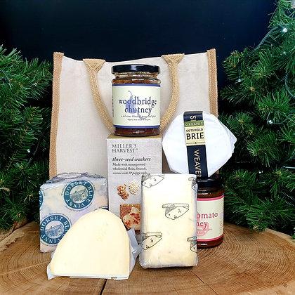 Family Christmas Cheese Odyssey Box