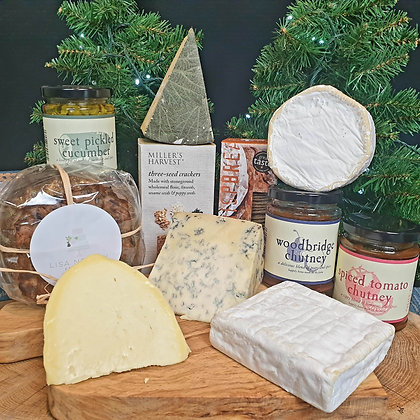 Ultimate Christmas Cheese Odyssey Box