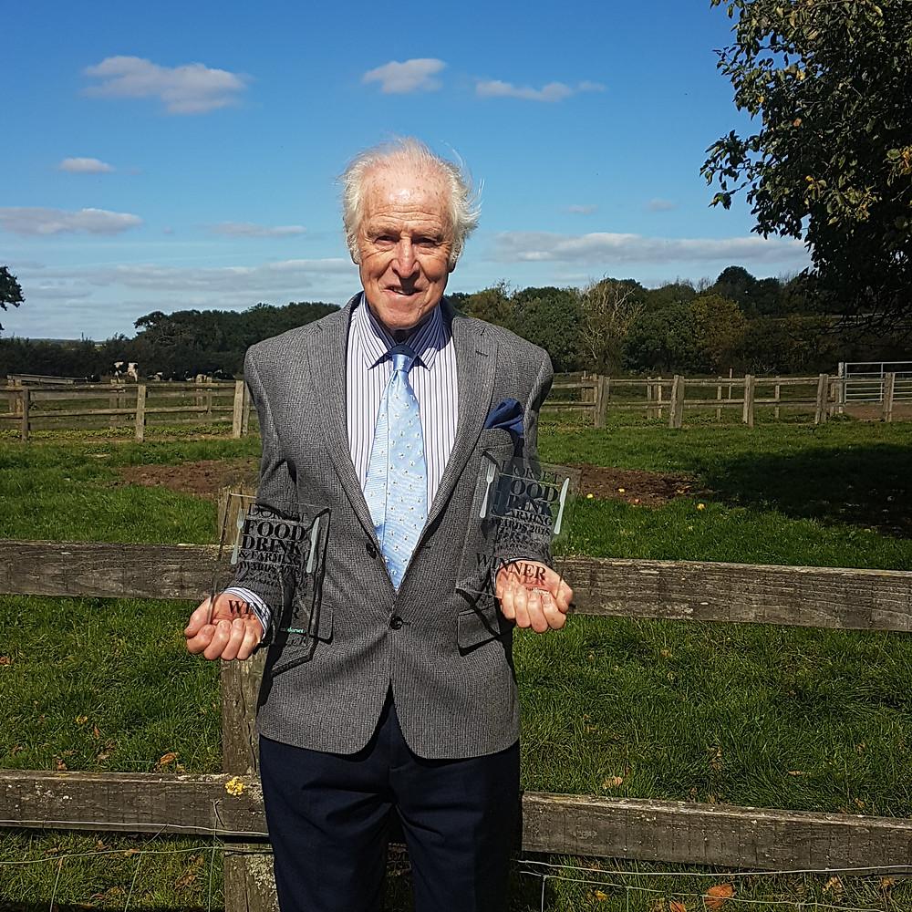 Michael Davies- founder of Dorset Blue Vinny