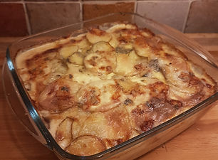 Dorset Blue Vinny Potato Gratin