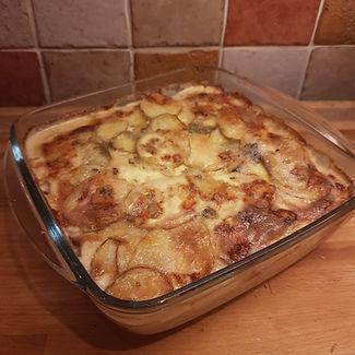 Dorset Blue Vinny Potato Gratin