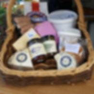 Dorset Blue Pop Up Shop Basket