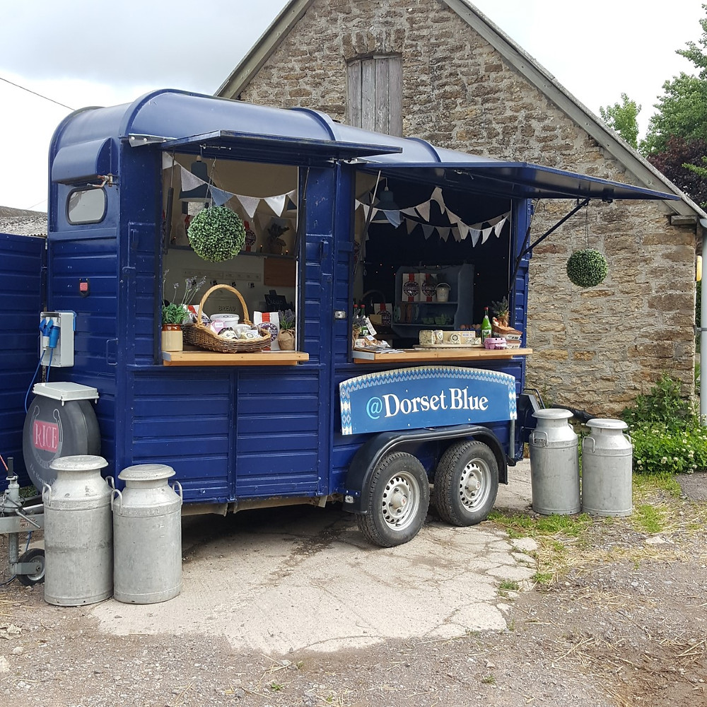 Dorset Blue Pop Up Shop