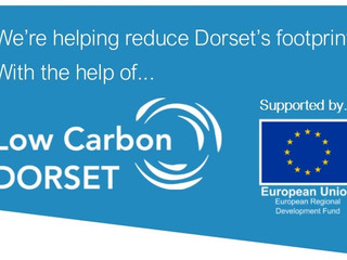 We're helping to reduce Dorset's Carbon Footprint!
