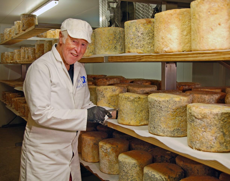 Michael Grading Cheese