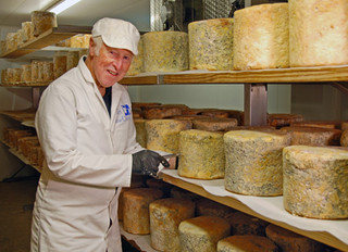 The History of Dorset Blue Vinny Cheese...