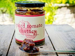 Spiced Tomato Chutney-Dorset Blue