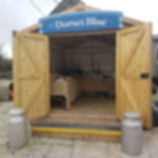 Dorset Blue Pop Up Farm Shop