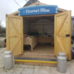 Dorset Blue Pop Up Farm Shop
